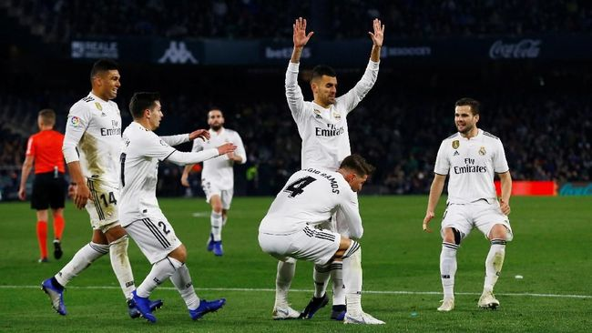 Real Madrid Susah Payah Kalahkan Real Betis