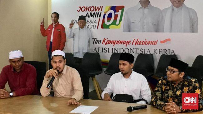 Didatangi Dai Aceh, Jokowi-Ma'ruf Siap Tes Baca Alquran