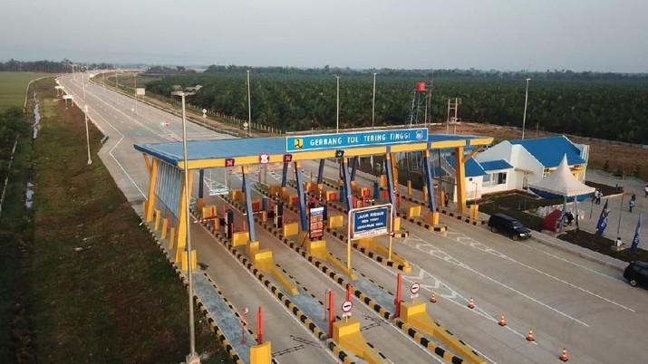 Gerbang Tol Tebing Tinggi (dok PT Jasamarga Kualanamu Tol)