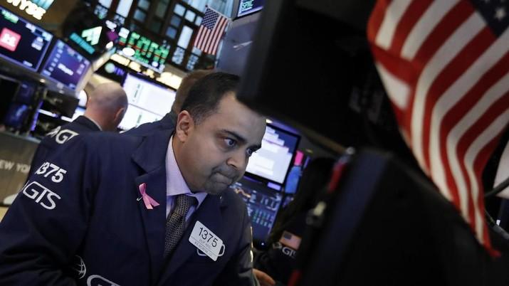 Perlambatan Ekonomi Global Tahan Laju Wall Street