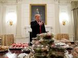Pemerintah AS Tutup, Gedung Putih Sajikan Burger & Pizza