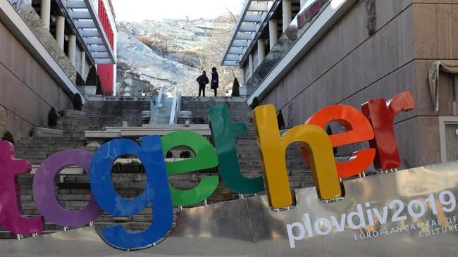 Plovdiv adalah kota pertama di Bulgaria yang memegang gelar Ibu Kota Kebudayaan Eropa.(REUTERS/Stoyan Nenov)