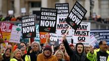 Satu Juta Pedemo Anti-Brexit Diklaim Tuntut Referendum Ulang