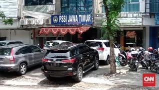 Satgas Anti Mafia Bola Kembali Datangi Asprov PSSI Jatim