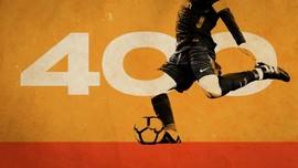 INFOGRAFIS: Catatan 400 Gol Lionel Messi