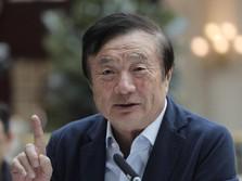 Bos Huawei Sebut 'Perang' Berikutnya Dengan AS Soal IoT