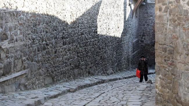 Plovdiv, juga dikenal sebagai Kota Tujuh Bukit. (REUTERS/Stoyan Nenov)