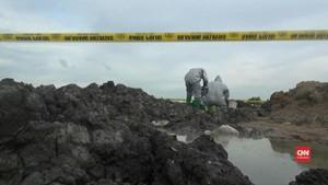 VIDEO: Tanah Berzat Kimia Bakar Kaki Tiga Bocah di Bekasi