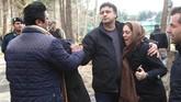 Pesawat itu jatuh pada pukul 08.30 waktu setempat. (Abbas Shariati/Tasnim News Agency).