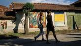 Tahun ini Plovdiv menargetkan 2 juta kunjungan wisatawan (Dimitar DILKOFF / AFP)