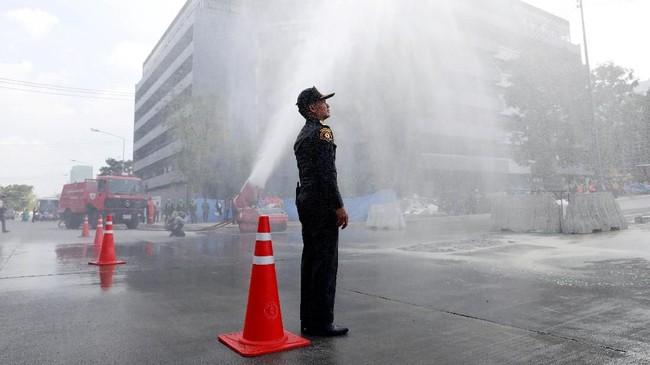 Kandungan partikel polusi di Bangkok terdiri dari debu, jelaga, dan asap. (REUTERS/Soe Zeya Tun)