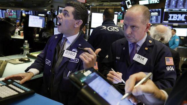 AS-China Tak Sepaham Soal Syarat Deal, Bursa AS Dibuka Anjlok