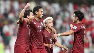 Timnas Thailand Lolos ke Babak 16 Besar Piala Asia 2019