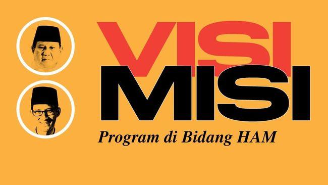 Debat Capres Perdana: Visi-Misi Prabowo-Sandi di Bidang HAM