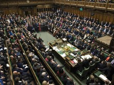 Begini Panasnya Parlemen Inggris saat Kandaskan Usulan Brexit