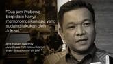 Ace Hasan Syadzily, Juru Bicara TKN Jokowi-Ma'ruf/Wakil Ketua Komisi VIII DPR.