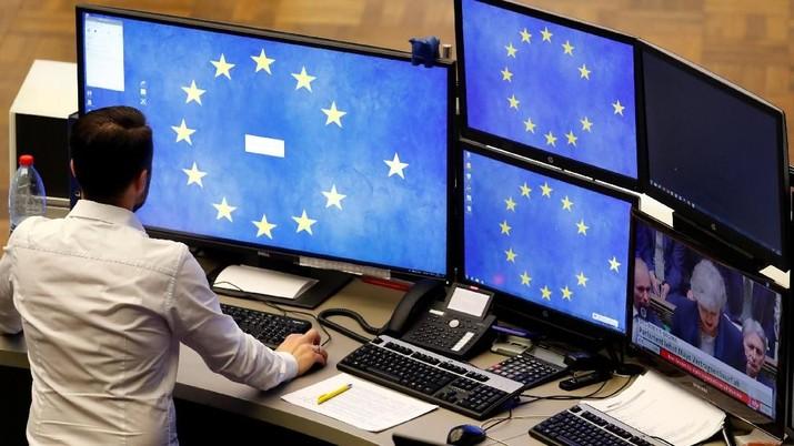 Pasar saham Eropa naik pada awal perdagangan hari ini.