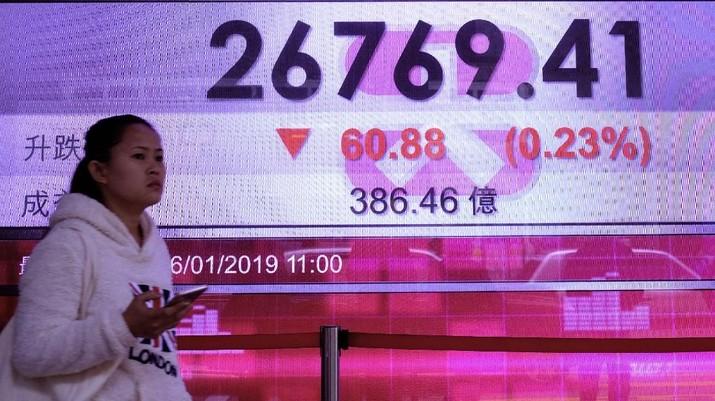 Ada Kabar Baik Soal AS-China, Bursa Hong Kong Naik 0,23%
