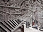 Srinagar Dilanda Cuaca Dingin dan Salju