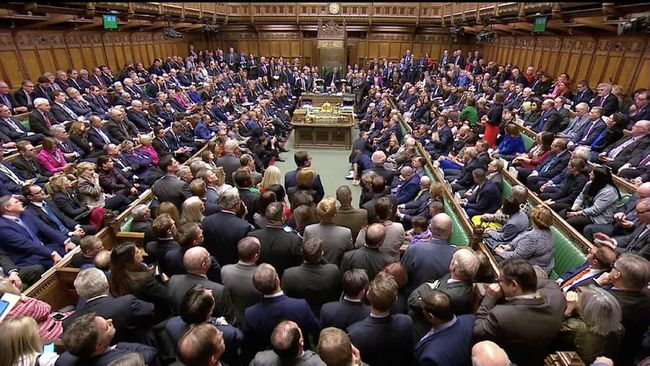 Parlemen Inggris Tolak Draf Brexit Usulan Theresa May