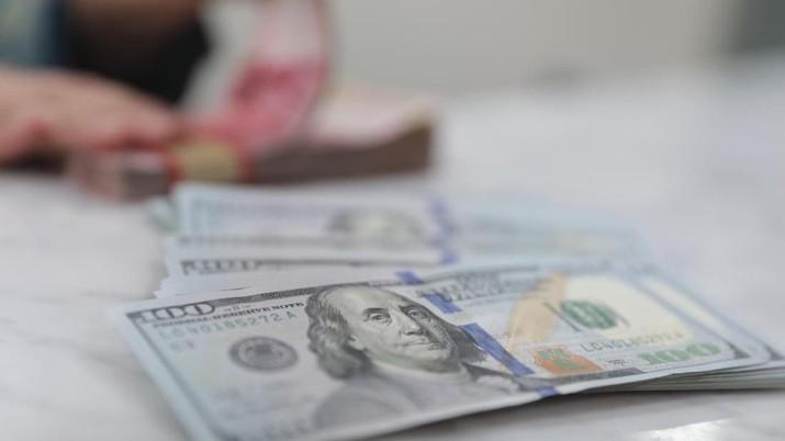 Pukul 10:00 WIB: Rupiah Menguat ke Rp 14.185/US$