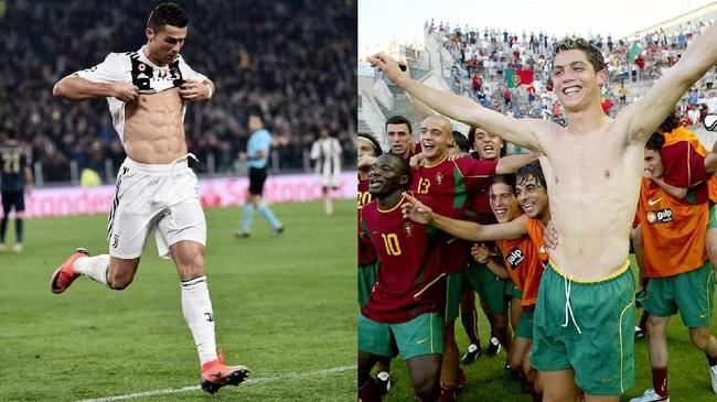 FOTO: 5 Transformasi Kurus ke Kekar Bintang Sepak Bola