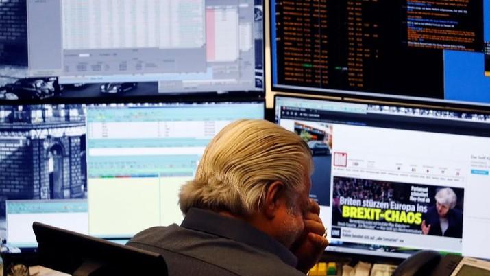 Perang Dagang AS-China Memanas, Bursa Eropa Terkoreksi