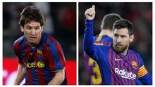 FOTO: #10YearChallenge Bintang Sepak Bola Dunia