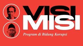 Debat Capres Perdana: Visi-Misi Jokowi-Ma'ruf soal Korupsi