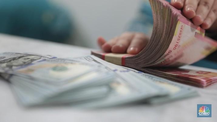 mata uang dolar rupiah