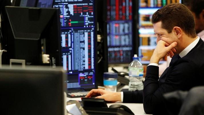 Target Pertumbuhan Ekonomi Dipangkas, Bursa Eropa Amblas