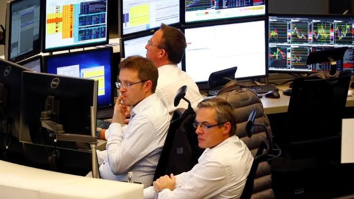 Tunggu Hasil Perundingan Dagang, Bursa Saham Eropa Flat
