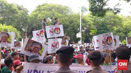 Digeruduk Massa, KPU Tetap Minta OSO Mundur dari Ketum Hanura