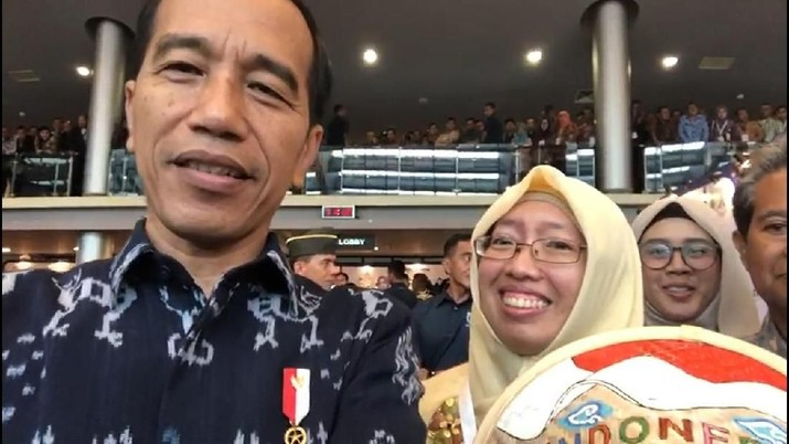 Di Program Wirausaha ASN, Jokowi Apresiasi UMKM Binaan BRI
