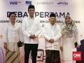 Tiba di Lokasi Debat Bersama Jokowi, Ma'ruf Kenakan Sarung