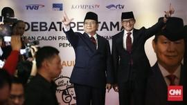 Prabowo-Sandi 'Mimpi' Anggarkan Dana Bencana Seperti Jepang