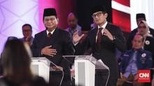 Beda Jas yang Dipakai Prabowo dan Sandiaga di Debat Capres