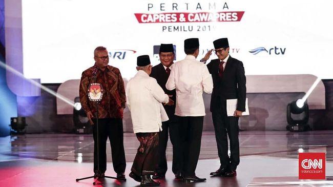 Jokowi Sindir Prabowo soal Ratna Sarumpaet di Debat Capres