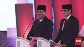 Prabowo di Debat Capres Perdana: Kuasai Sumber Daya Alam