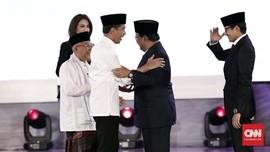 TKN Nilai Jokowi Unggul 3-1 dari Prabowo dalam Debat Perdana
