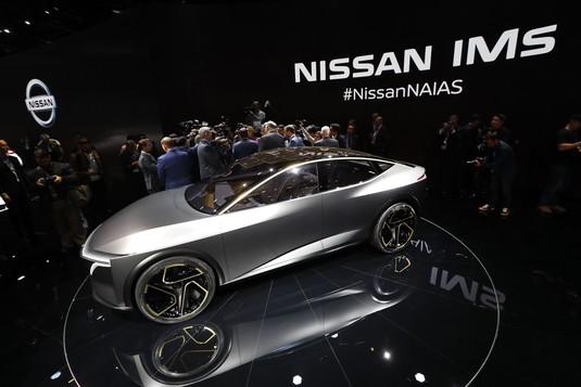 Intip Prototipe Mobil Futuristik di Gelaran Detroit Auto Show