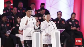 Debat Capres, Menteri-menteri Ekonomi Bakal Dampingi Jokowi