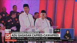 VIDEO: Visi-Misi Jokowi-Ma'ruf di Debat, Indonesia Maju