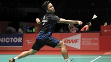 Anthony Ginting ke Perempat Final Indonesia Masters 2019