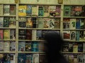 FOTO: Pemandangan Pasar Buku Kairo