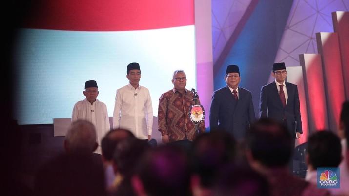 Debat Capres: Prabowo Mau Naikkan Gaji PNS, Jokowi Tak Setuju