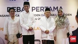 Tanpa Beban di Debat, Jokowi-Ma'ruf Diklaim Bebas Kasus HAM