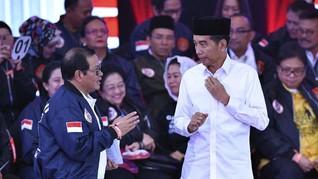 Jokowi Tutup Debat dengan Isu Rekam Jejak HAM dan Otoriter