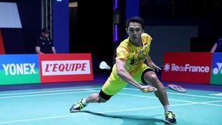 Jonatan Masih Tegang Tampil di Indonesia Masters