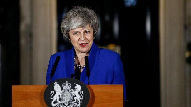 PM Inggris Theresa May Sebut Ada Dua Opsi soal Brexit